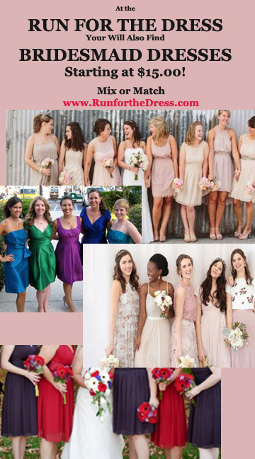 RUN for the DRESS St Louis a one day sale of Designer Bridal Gowns